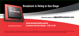 Broadcom.com Recruiting Mobile Billboards