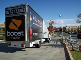 Boost Mobile - Wedge Mobile Billboard